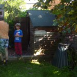 Before: The old shed