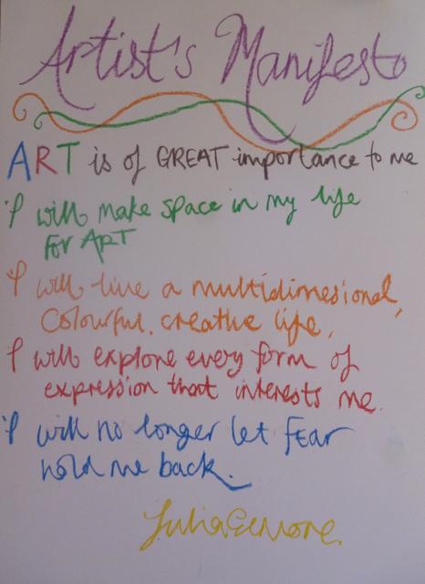 Artist's Manifesto