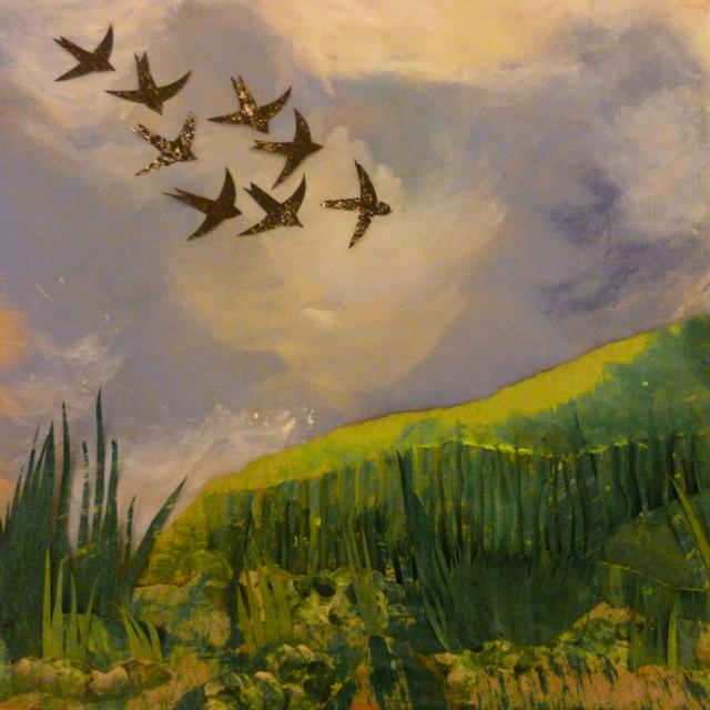 Collage - Birds in Flight