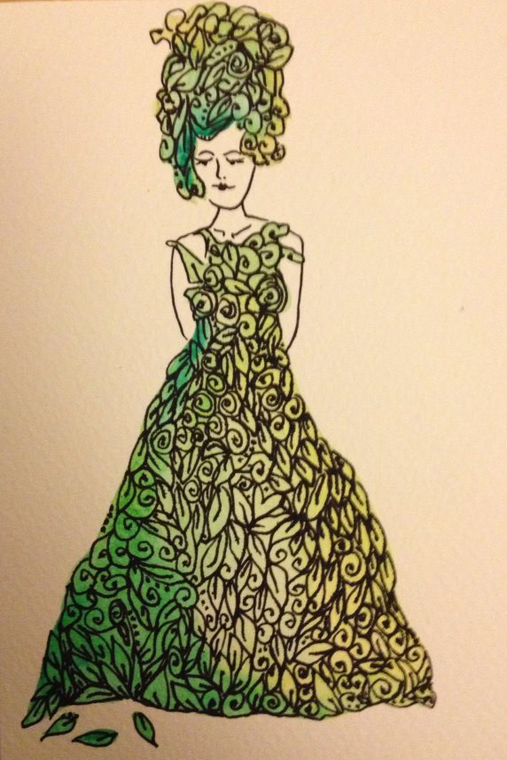 Leaf-lady