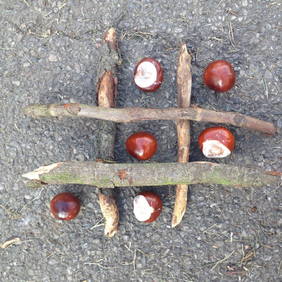 Conker naughts and crosses